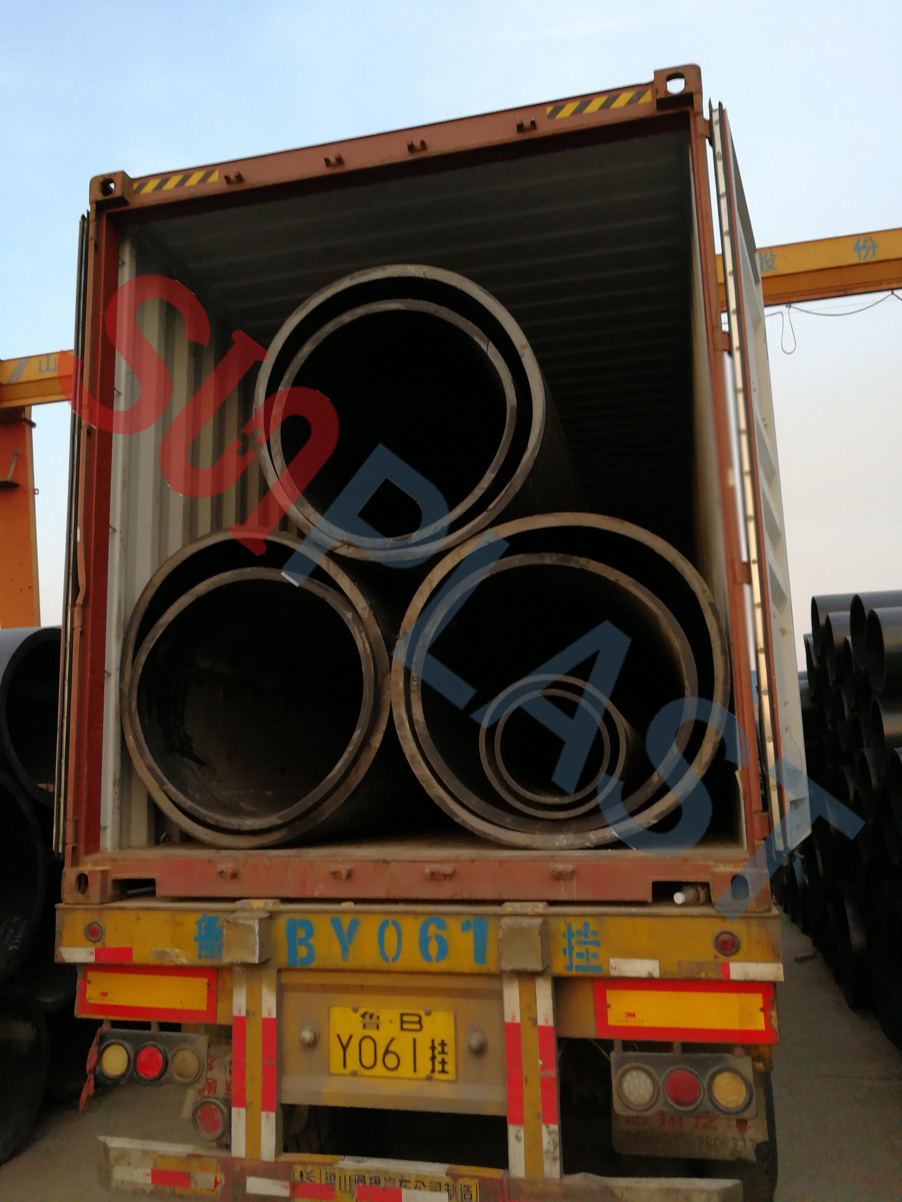 SUNPLAST DN1000 / DN1200mm HDPE Pipe Upang Australia